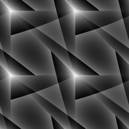 abstractive: Grey and black seamless ornament. Tile-able almost colourless abstractive pattern as seamless vector wallpaper. Illustration