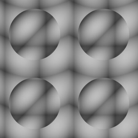 abstractive: Grey seamless ornament  Tile-able almost colourless abstractive pattern as seamless vector wallpaper