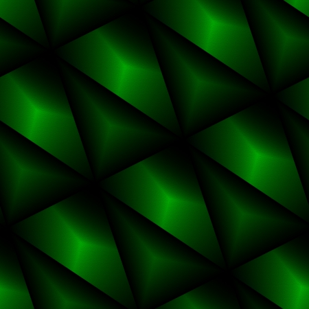 abstractive: Green seamless abstract wallpaper. Dark green embossed seamlessly tiled abstractive background.