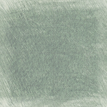 frayed: Old wraparound wallpaper. Shabby old greenish seamlessly tiled originally textured background.