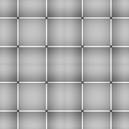 periodical: Grey square seamless pattern. Almost colourless embossed vector background.