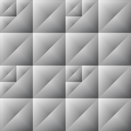 abstractive: Uneven seamless geometrical abstractive background. Grey embossed abstract wallpaper.