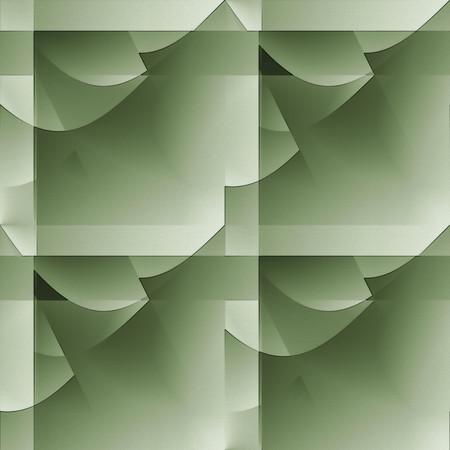 abstractive: Green seamless abstractive embossed wallpaper. Stock Photo