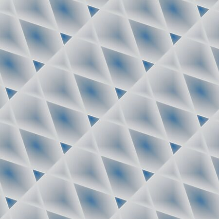 abstractive: Geometrical seamless sky. Blue seamlessly tiled embossed uneven abstractive texture-background about line-drawn cloudy sky.