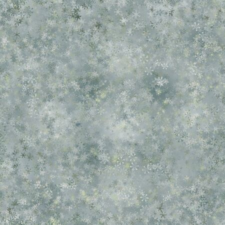 stellate: Winter holiday abstract frosty seamless background. Illustration
