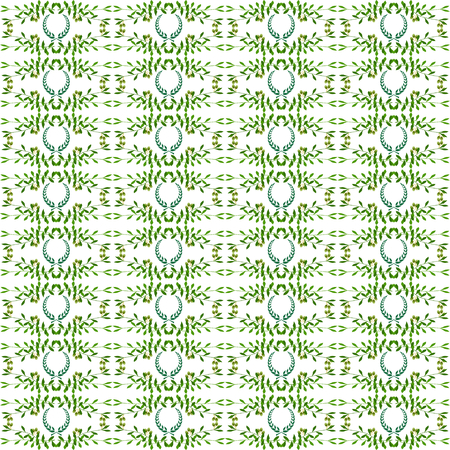 seamlessly: Olive seamless horizontal ornament. Olive branches seamlessly tiled pattern with laurels. Made by means of openclipart.org elements.