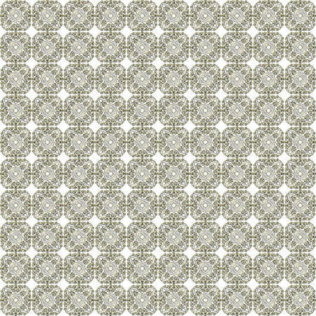 ingenious: Golden seamless ornate pattern. Seamlessly tiled golden floral complex, fanciful ornament. No background. Made by means of one of openclipart.org elements.