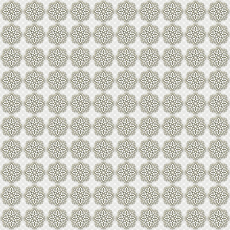 ingenious: Golden over frozen pattern. Seamlessly tiled metallic-golden and frozen-white floral ornate pattern made by means of openclipart.org elements.