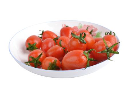 gules: Cherry tomatoes Stock Photo