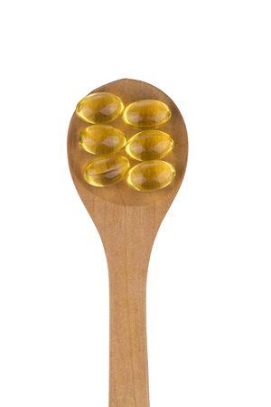 omega3: OMEGA-3 golden capsule