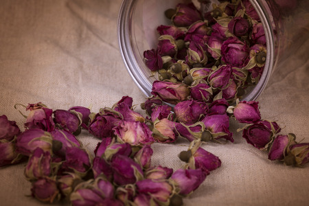 pureness: Dried damask rose.
