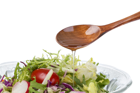 Olive oil salad Zdjęcie Seryjne