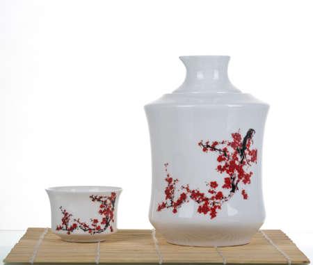 tea set: tea set Stock Photo