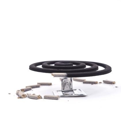 bobina: Imagen de la bobina de un mosquito.