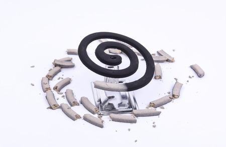 spirale: Bild von einer Mücke Spule.