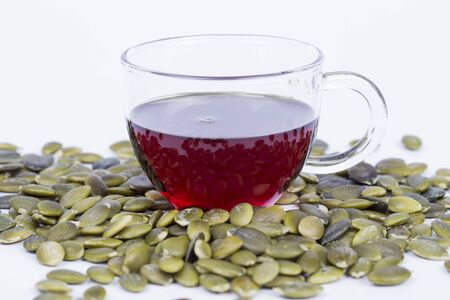 Pumpkin seed oil and seeds