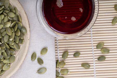 pumpkin seed: Pumpkin seed oil and seeds