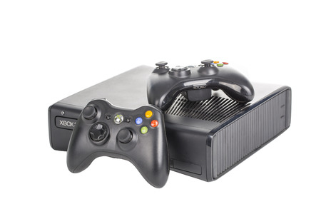 Black Microsoft xbox Game Controller. Editorial