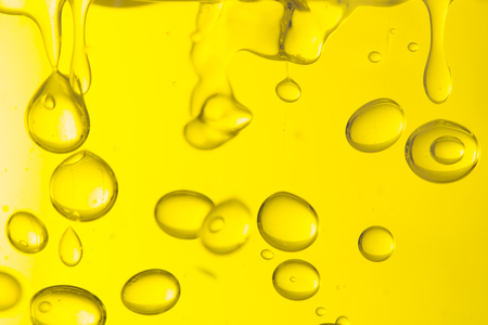 Macro of oil drops, abstract macro background. Reklamní fotografie