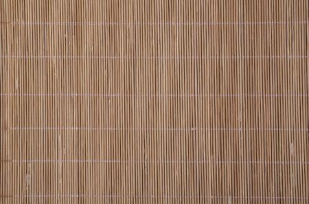 civilized: Bamboo mat texture closeup.