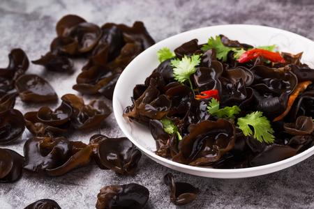 Chinese cuisine, Black Fungus Zdjęcie Seryjne