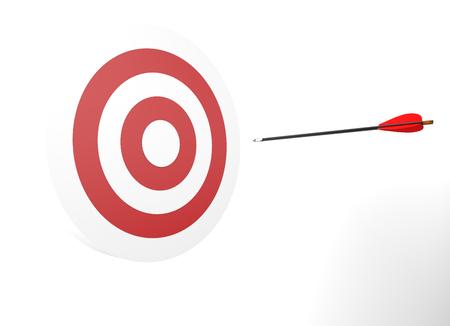 Arrow in target.