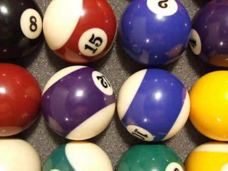Pool balls Reklamní fotografie - 900858