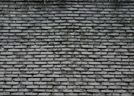 Grey Slate Roof Texture / Background Stock Photo - 15543665