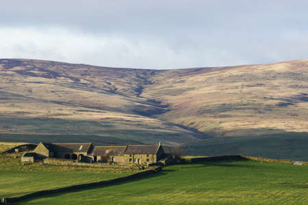 a remote english farm in the northumberland hills