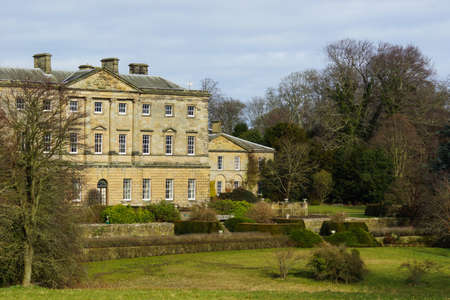 stately home: An English Stately Home Stock Photo