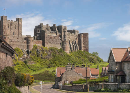 Old English Castle Bamburgh