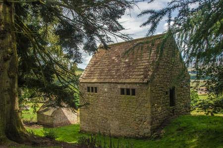 Anglo Scottish Border Bastle Farm House Stock Photo - 21872769