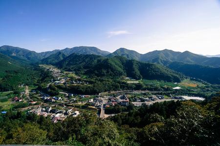 Landscape of Yamadera Фото со стока - 78811005