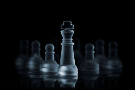 dominance: King leading the pawns