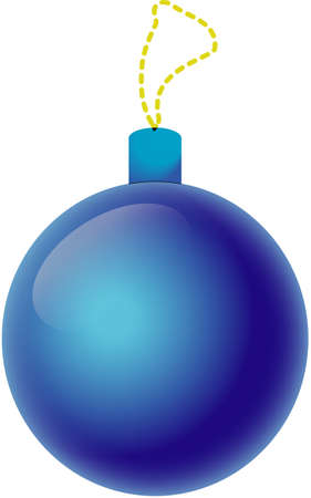 Ball, New Year s toy Stock Vector - 17266858