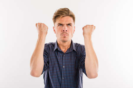 wroth: man in a rage