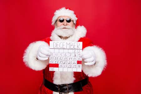 Prepare chill December noel eve. Handsome trendy careless carefr