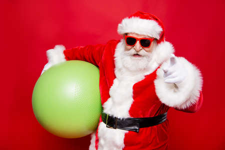 Holly jolly merry x mas cheerful funny positive stylish Santa