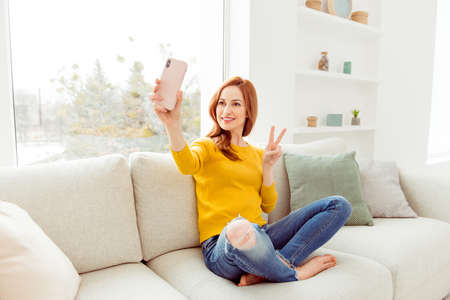 Style, trend, elegant, graceful, charming, cheerful, fancy lady Stock Photo