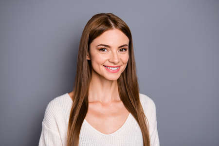 Close-up portrait attractive woman Stok Fotoğraf