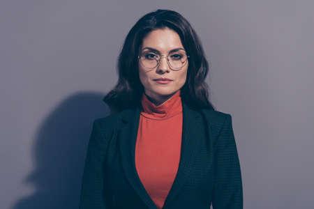 Close up portrait of pretty attractive  woman