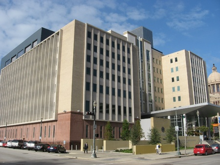 detention: Harris County Juvenile Justice and Detention Center in downtown Houston in November 2011