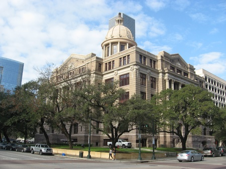 Historic Harris County Courthouse in downtown Houston, now home to First Court of Appeals in November 2011 Stock Photo - 11287050
