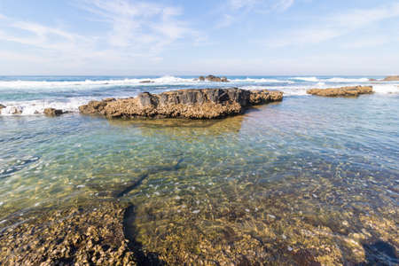 Beautiful coastline of Kwazulu Natal, South Africa