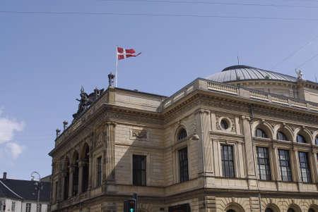 K�BENHAVNCOPENHAGENDANMARK DENMARK.Danish royal theater building (det kongelige teater Hus)at kongens nytorv May 13 , 2009       (PHOTO BY FRANCIS DEAN  DEAN PICTURES) Stock Photo