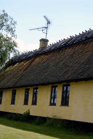 eldlery: DRAGOERDRAG�R DANMARK DENMARK. Old houses in store magleby 20 june 2009    (PHOTO BY FRANCIS DEAN  DEAN PICTURES)