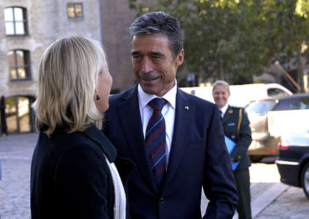 foreign secretary: DENMARK  COPENHAGEN .  Anders Fogh Rasmussen Natos Secretary Geeneral on his first official visit to his native lannd Denmark,former prime minister of Denmark visits Danish minister for foreign affairs MS Lene Espersen today tuesday 31 August 2010