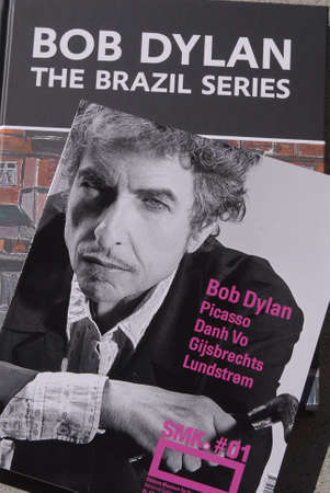 DENMARK / COPENHAGEN . Painting exhibtion The Brazil Serie by Bob Dylan at statens Museum for arts  2 September 2010       Editoriali