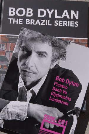DENMARK / COPENHAGEN . Painting exhibtion The Brazil Serie by Bob Dylan at statens Museum for arts  2 September 2010       Stock Photo - 7675854