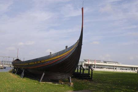 polictis: DENMARK  ROSKILDE . Viking ship 4 October 2010